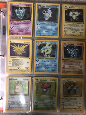 Binder of Pokemon Cards for Sale in Kent, WA