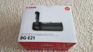 Brand new BG-E21 battery grip for Canon camera for Sale in Herndon, VA