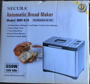 Bread maker for Sale in San Diego, CA