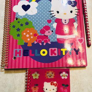 Hello Kitty Notebook & Pen Set for Sale in Ellenwood, GA