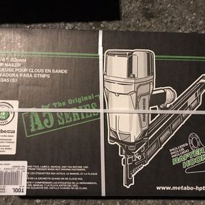 Metabo Htp Strip Nailer for Sale in Roseville, CA