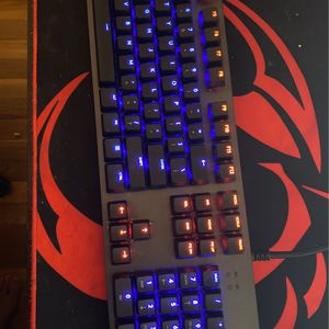 Good Gaming Keyboard With Cherry My Blue Switches for Sale in Alexandria, VA