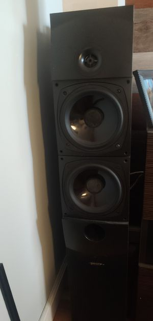 Marantz mr1504 with 2 Energy Towers and klh active woofer for Sale in Vista, CA