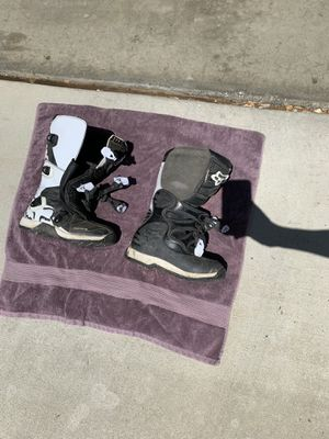 Fox motorbike boots for Sale in San Diego, CA