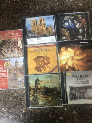 Classical music CDs,8 total for Sale in Marysville, WA