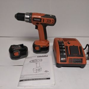 Ridgid Drill with Charger/Batteries for Sale in Garden Grove, CA