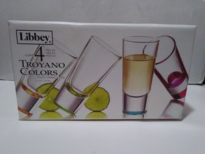 Multi color large shot glass set for Sale in Covina, CA