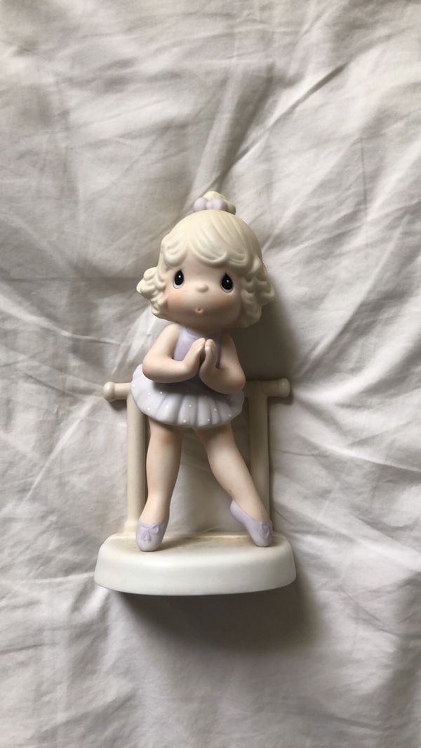 "Precious Moments ""Lord, Keep Me On My Toes"" Porcelain Figurine"