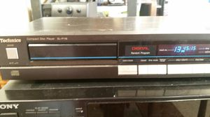 Fully functional original Technics CD player July 1986 TESTED for Sale in Woodstock, GA