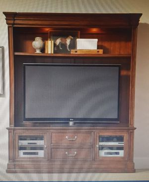 Hooker Brand entertainment console two piece for Sale in Owasso, OK
