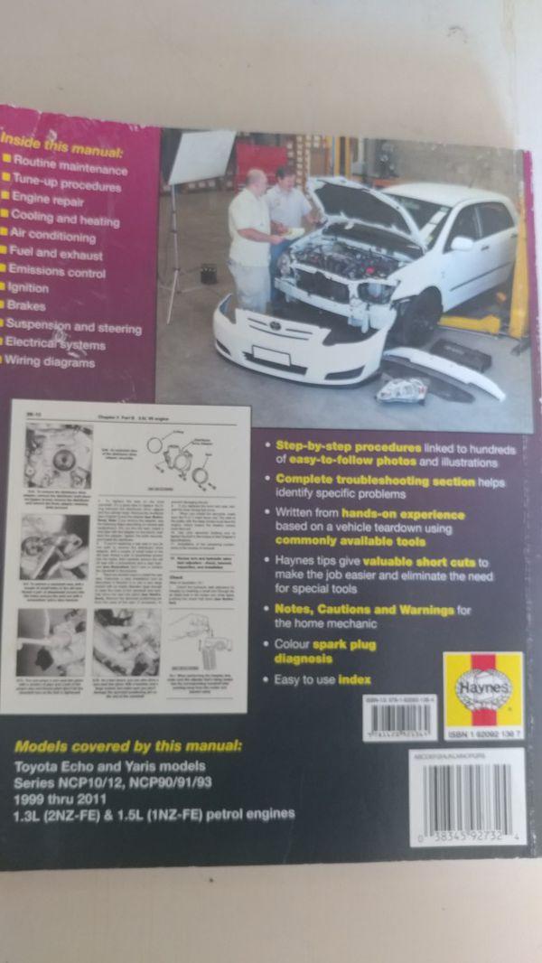 haynes toyota echo repair manual