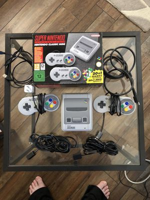 Super Nintendo Classic Console with 50 games for Sale in Odenton, MD