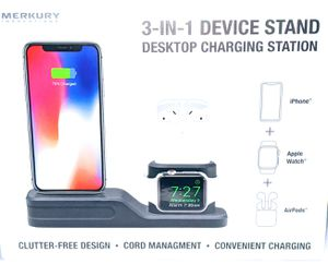 3 in 1 DEVICE STAND DESKTOP CHARGIN STATION for Sale in Odessa, TX