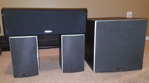 Polk Audio Speaker Setup CS10, M10 x 2, PSW10 for Sale in Mesa, AZ