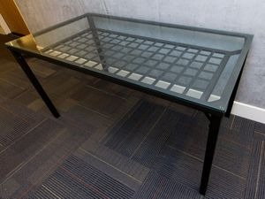 Glass and metal dining / kitchen table for Sale in San Francisco, CA