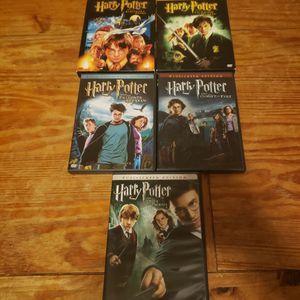 Harry Potter Series 1-5 for Sale in Chesapeake, VA