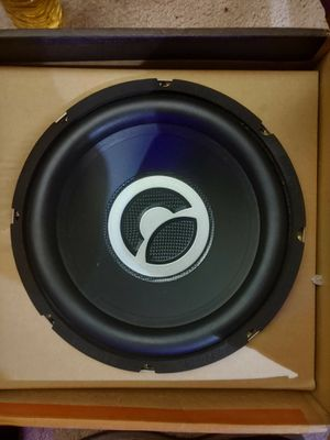 10' subwoofer in box, brand new!! Must sell in 24 hours!!! Reasonable offer pick up immediately. Text here or my cell 580,491,0297 for Sale in Austin, TX