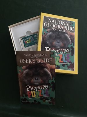 Vintage National Geographic Puzzle for Sale in Cerritos, CA