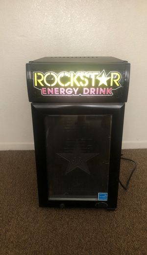 Rockstar Mini Fridge for Sale in Highland, CA
