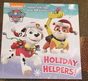 Paw patrol Christmas book for Sale in Bowie, MD
