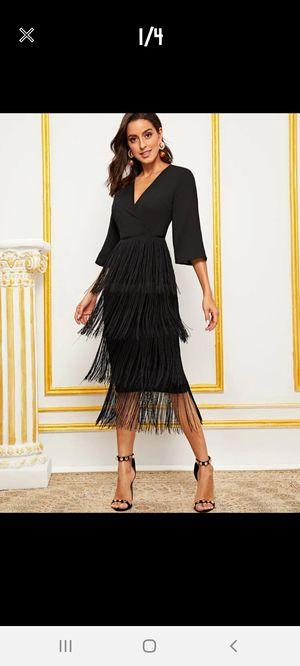 Black fringe dress for Sale in Montebello, CA