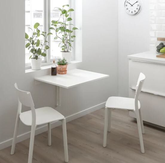 Ikea Norberg Wall Mounted Drop Leaf Table