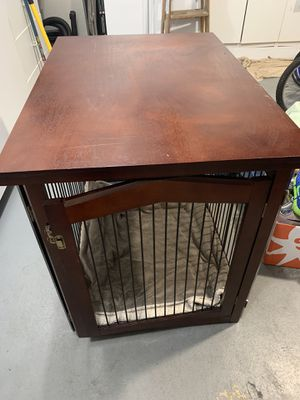 Quality, furniture-like dog kennel for Sale in Lake Grove, OR