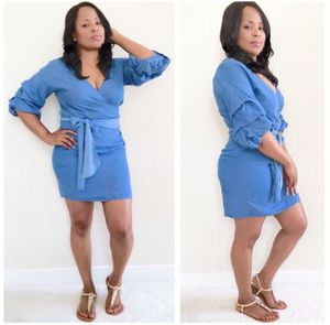 Denim Belted Dress (PRICE FIRM) for Sale in Oxon Hill, MD