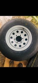 Trailer wheels and tires in new condition for Sale in Taylor, MI