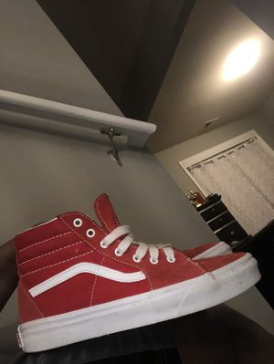 Red Vans for Sale in Austell, GA