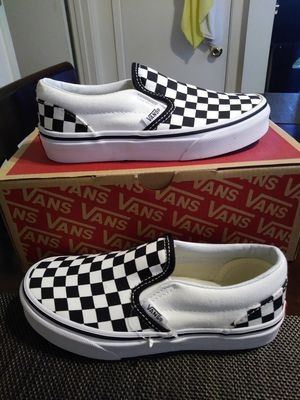 Vans size 1 for kids used for Sale in Chino, CA
