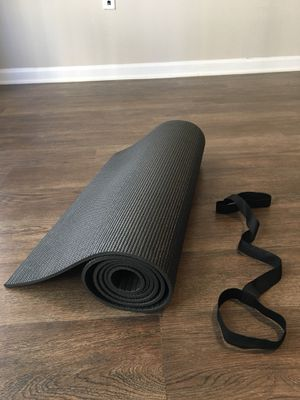 Yoga mat with carrying strap for Sale in Orlando, FL
