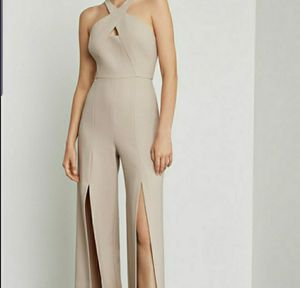 BCBG S12 Front Slit Wide Leg Jumpsuit for Sale in Pompano Beach, FL