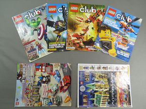 2012-213 lot of 6 lego magazines 4 + 2 with no cover for Sale in Lancaster, PA