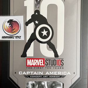 Hot Toys Marvel Avengers Captain America Concept Art MMS488 1/6 Sideshow Disney for Sale in Naperville, IL
