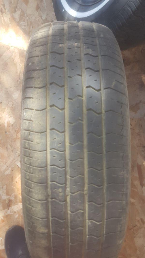 4 mismatched trailer tires