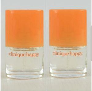 NEW 2× Clinique Happy Perfume Travel Mini Set for Sale in Beaverton, OR