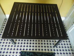 Folding metal coffee / patio table for Sale in Denver, CO