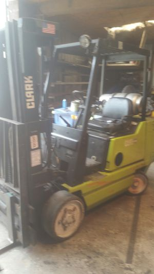 2007 Clark forklift with side shift for Sale in Plant City, FL