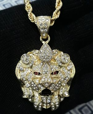 LION HEAD NECKLACE for Sale in Los Angeles, CA