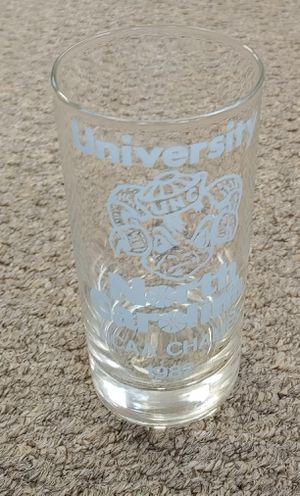 Vintage University Of North Carolina NCAA Champs 1982 Glass for Sale in Burlington, NC