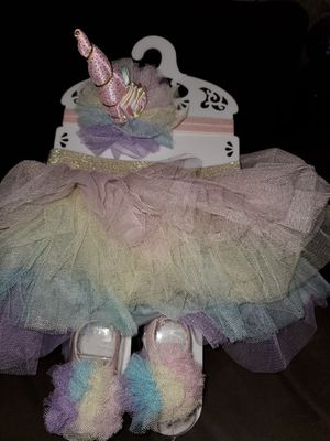 Unicorn baby photo outfit for Sale in Westminster, CA