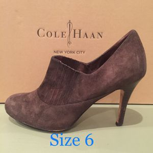 Cole Haan air talia Suede bootie - polyvore ankle boots size 6B (Tribeca Manhattan) for Sale in New York, NY