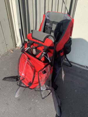Baby Toddler Backpack Camping Hiking Child Kid Carrier Shade Outdoor for Sale in Stanton, CA