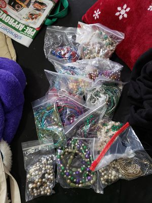 13 bags of beads for Sale in Baltimore, MD