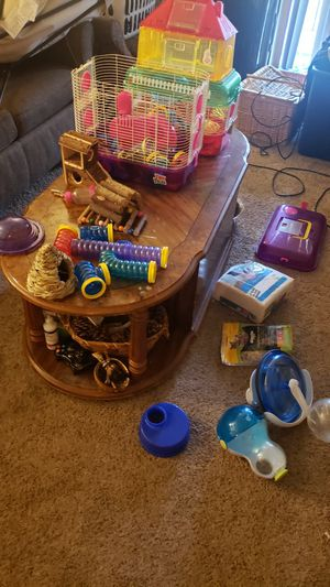 COMPLETE hamster cage. for Sale in Tulsa, OK