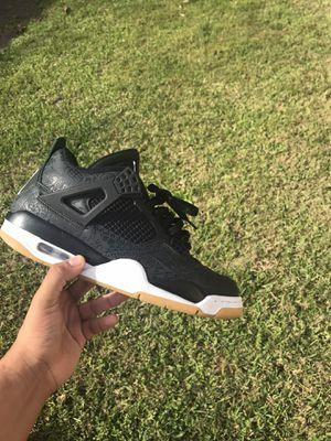 "Retro Jordan 4 ""black laser gym"" for Sale in Kissimmee, FL"