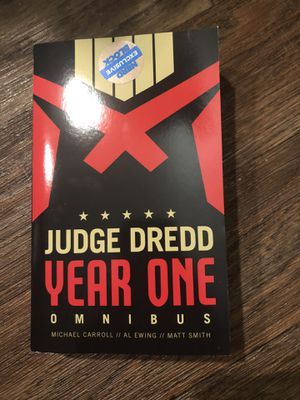 judge dredd year one omnibus for Sale in Seattle, WA