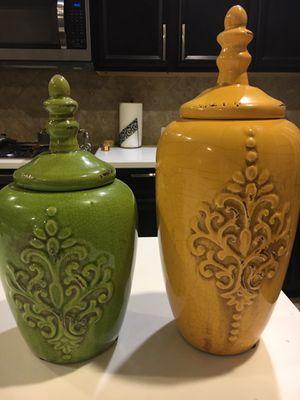Decorative Ceramic Jars for Sale in Cypress, TX