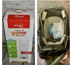 Infant car seat & stroller + Diaper genie for Sale in New Carrollton, MD